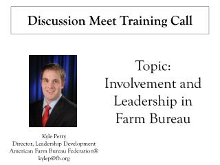 Discussion Meet Training Call