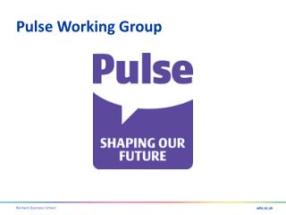 Pulse Working Group