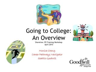 Going to College:  An Overview Shoreline JTE Training Workshop April 2010