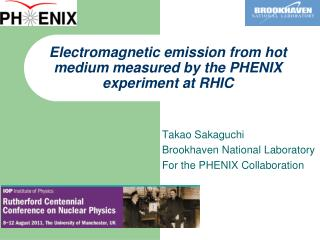 Electromagnetic emission from hot medium measured by the PHENIX experiment at RHIC