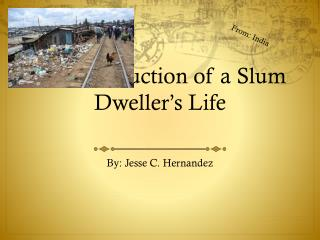 The Destruction of a Slum Dweller's Life