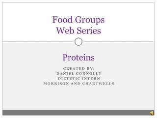Food Groups  Web Series