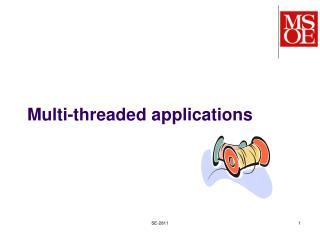 Multi-threaded applications