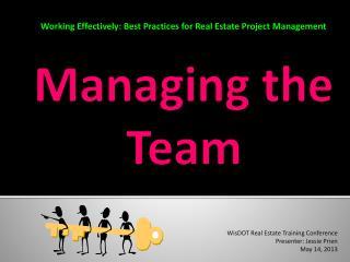 Managing the Team
