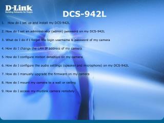 DCS-942L
