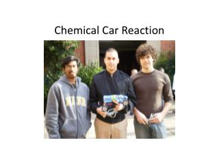 Chemical Car Reaction