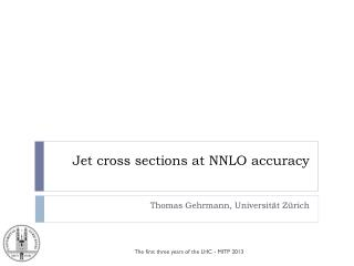 Jet cross sections at NNLO accuracy