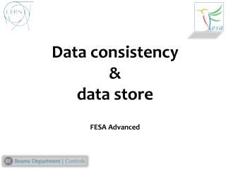 Data consistency  & data store