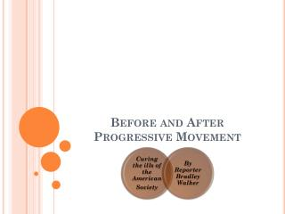 Before and After Progressive Movement