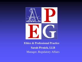 Ethics & Professional Practice