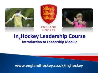 englandhockey.co.uk/in 2 hockey