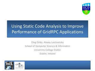 Using Static Code Analysis to Improve Performance of GridRPC Applications