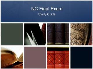 NC Final Exam