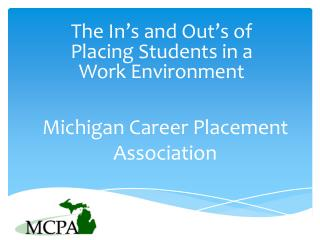 Michigan  Career Placement Association