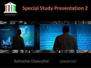 Special Study Presentation 2