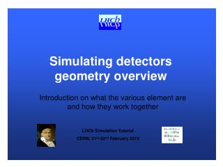 Simulating detectors geometry overview