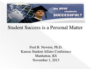 Student Success is a Personal Matter