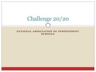 Challenge 20/20