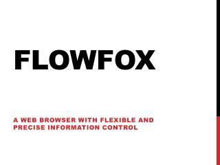 FlowFox