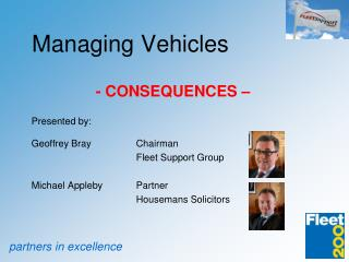Managing Vehicles