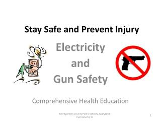 Stay Safe and Prevent Injury