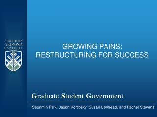 Growing Pains: Restructuring for Success