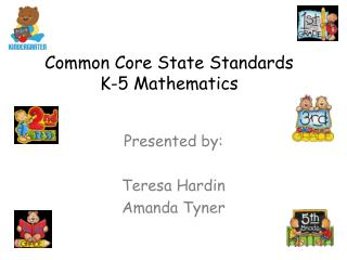 Common Core State Standards K-5 Mathematics