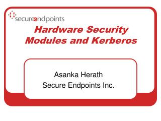 Hardware Security Modules and Kerberos