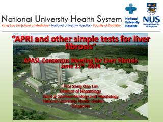 """APRI and other simple tests for liver fibrosis "" APASL Consensus Meeting for Liver Fibrosis"
