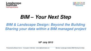 BIM – Your Next Step