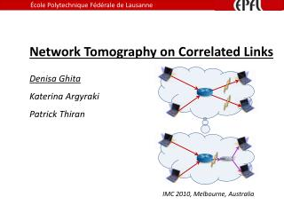 Network Tomography on Correlated Links