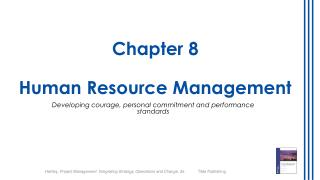 Chapter  8 Human Resource Management