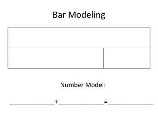 Bar Modeling