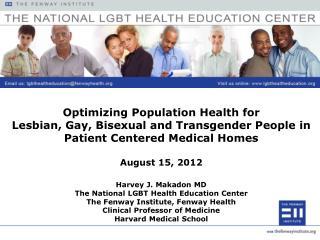Optimizing  Population Health for