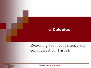 p  Calculus
