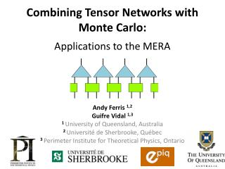 Combining  Tensor Networks with Monte  Carlo: Applications  to the MERA