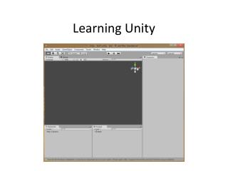 Learning Unity