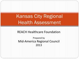 Kansas City Regional  Health Assessment