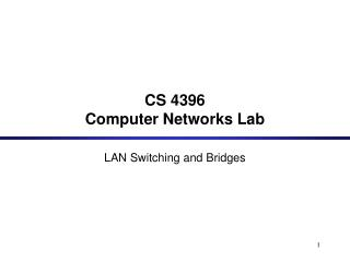 CS 4396