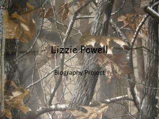Lizzie Powell
