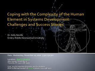 Dr. Kelly Neville Embry-Riddle Aeronautical University