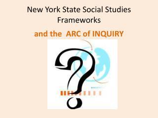 New York State Social Studies Frameworks