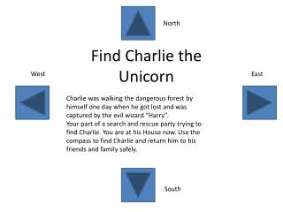 Find Charlie the Unicorn