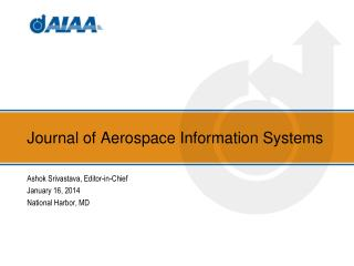 Journal of Aerospace Information Systems
