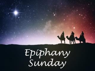 Epiphany Sunday