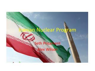 Iranian Nuclear Program