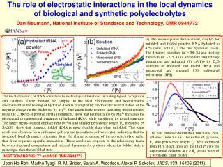 Dan Neumann, National Institute of Standards and Technology, DMR 0944772