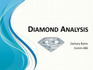 Diamond Analysis