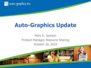 Auto-Graphics Update