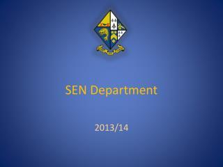 SEN Department